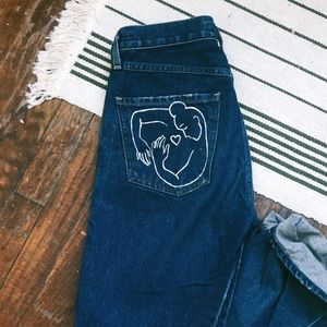 Wilfred + Citizens of Humanity Liv jeans